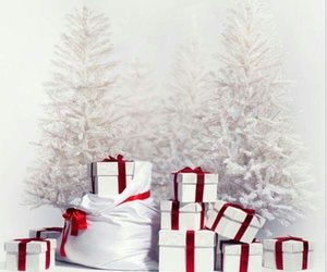 christmas, presents, and snow image