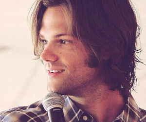 jared padalecki, supernatural, and Sam image
