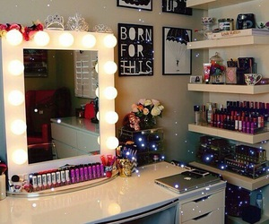 room, makeup, and make up image
