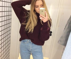 outfit, tumblr, and blonde image