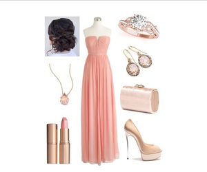 dress, jewelry, and outfit image