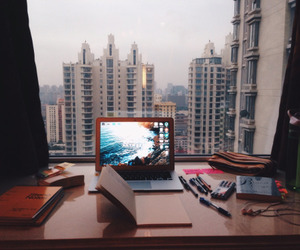 study, motivation, and laptop image