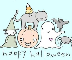 Halloween, ghost, and happy image
