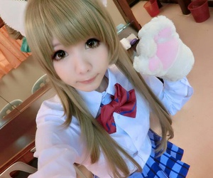 anime, cosplay, and neko image