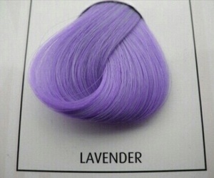 hair, grunge, and lavender image