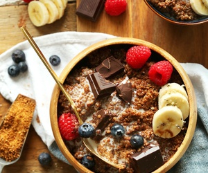 chocolate, food, and breakfast image