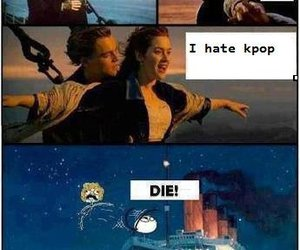 meme, titanic, and funny image