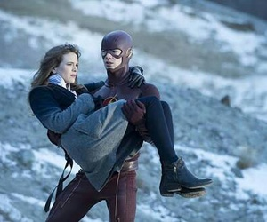 barry, CAITLIN, and flash image