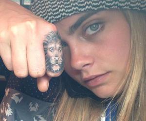 tattoo, cara delevingne, and model image