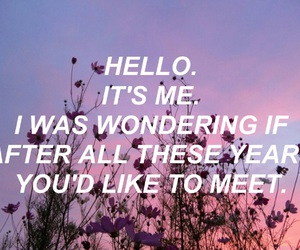 Adele, aesthetic, and flowers image