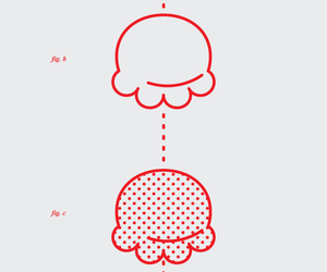 graphic design, ice cream, and illustration image