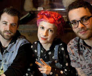 jeremy davis, paramore, and taylor york image