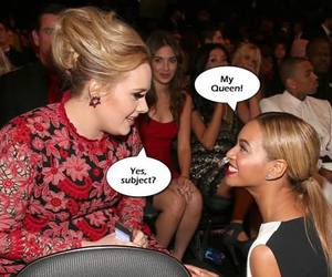 Adele, funny, and vevo record image