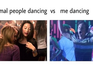 dancing, funny, and me image
