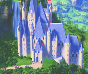 barbie, beautiful, and castle image