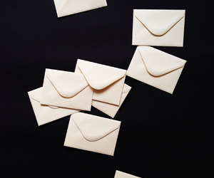 black, envelopes, and z image