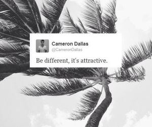cameron dallas, quote, and twitter image