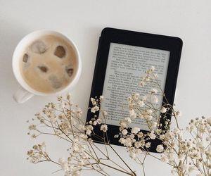 coffee and kindle image