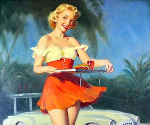 vintage and Pin Up image