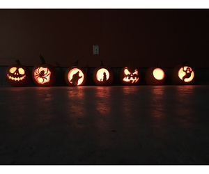 boo, Halloween, and carving image