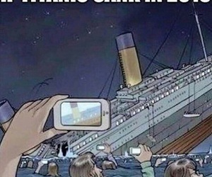 funny and titanic image