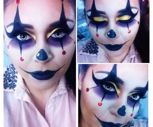 girly, Halloween, and makeup image