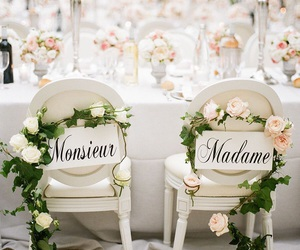 chairs, ideas, and wedding image
