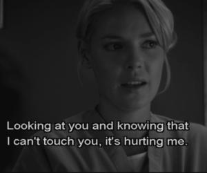 grey's anatomy, hurt, and quote image