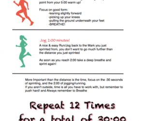 fit, run, and training image
