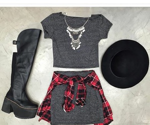 outfit, fashion, and shirt image