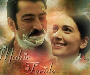 mahir, feride, and turkish couple image