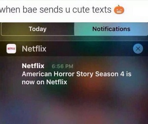 netflix, funny, and ahs image