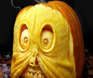pumpkin, Halloween, and art image