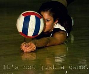 volleyball and passion image