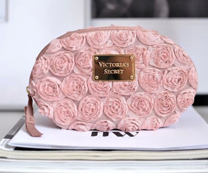 pink, Victoria's Secret, and bag image