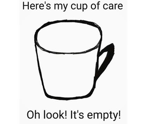 care and cup image