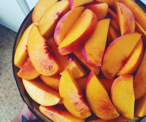 fruit, health, and peach image