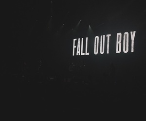 concert, FOB, and fall out boy image