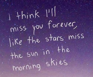 forever, stars, and sun image