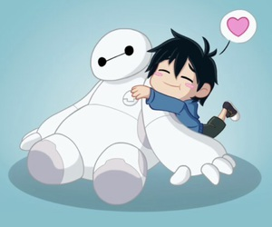 baymax, cute, and disney image