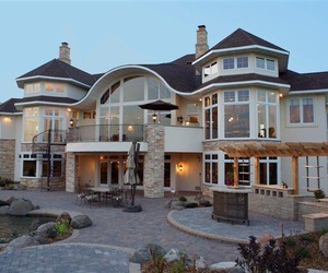 big house, house, and goals image