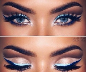 eyes, make up, and maquillage image
