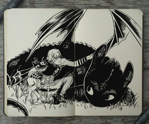 how to train your dragon, draw, and gabriel picolo image