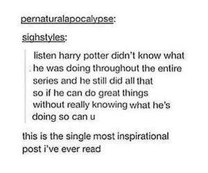 harry potter, inspiration, and tumblr image