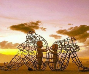 love, art, and sculpture image