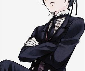 ciel phantomhive, black butler, and anime image