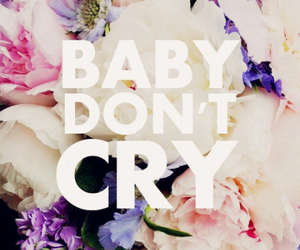baby, quote, and cry image