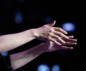 exo, hands, and baekhyun image