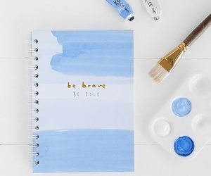 blue, art, and book image