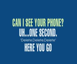 phone and funny image